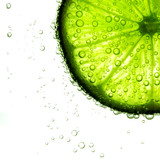 lime slice in water - 35158909