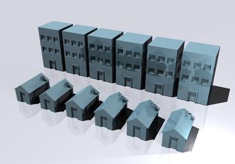 Case palazzi edifici