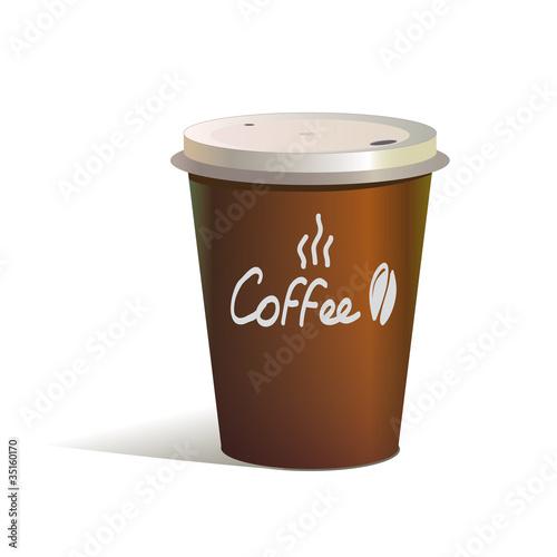 стаканчик кофе фаст фуд