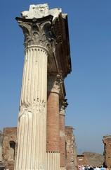 Ancient classic collumn in Rome
