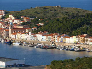 Port Vendres village