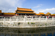 Gate of Supreme Harmony and Jinshui river in Forbidden City