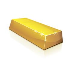 Lingot d'or (reflet)