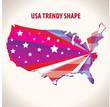 USA trendy shape