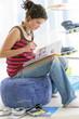 Adolescente - Révision des cours