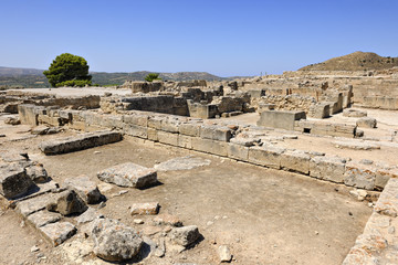 Ruins of the Minoan Palace of Phaistos