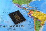 Canadian passport around the world