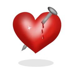chiodo nel cuore