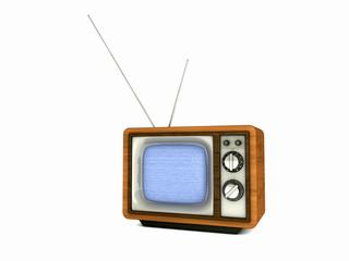 alter Nostalgie Fernseher aus Holz
