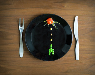 Plate Invaders