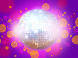 Night club disco ball