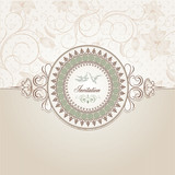Fototapety Vintage background template
