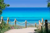 Fototapety Illetas illetes beachn turquoise Formentera island