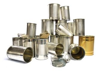 Recycling Blechdosen