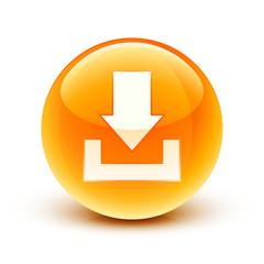 icône flèche téléchargement / downloading icon