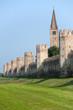 Montagnana (Padova, Veneto, italy) - Medieval walls and belfry
