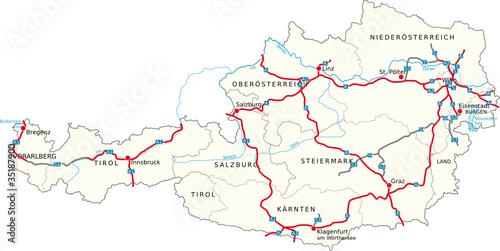 Gamesageddon Austria Map österreich Landkarte Lizenzfreie