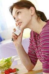 Repas rapide et  diététique