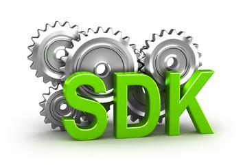 Software development kit - 3D concept