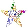 Carte de Voeux 2012 - étoile