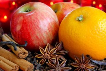 Advent mit Früchten und Aromen