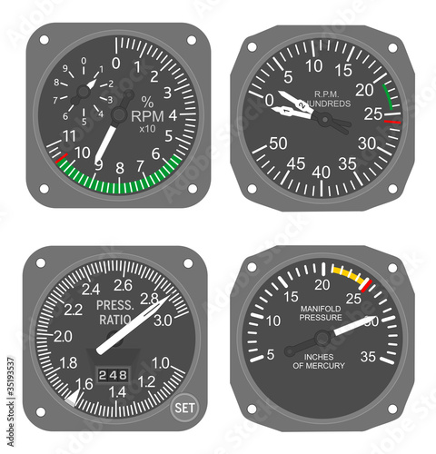 Aircraft gauges (#6)