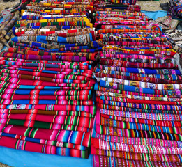 Colourful textile
