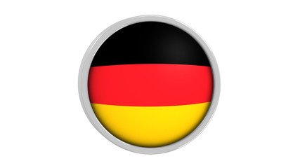 German flag with circular flag