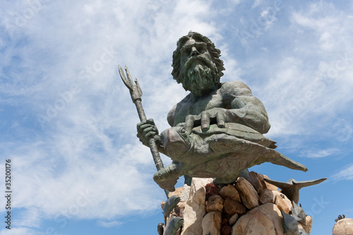 King Neptune Virginia Beach Statue