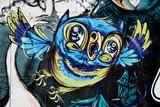 Fototapety Graffiti Owl