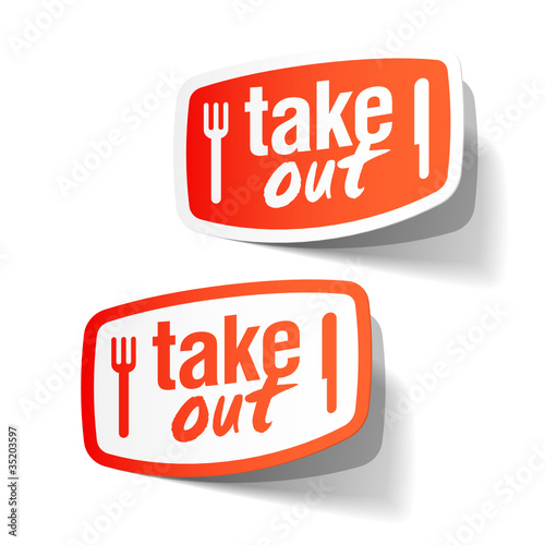 Takeout labels
