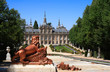 Leinwanddruck Bild - Royal Palace and gardens of La Granja de San Ildefonso (Spain)
