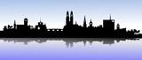 Fototapety Skyline Zürich mit See
