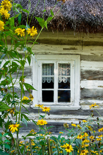 The window of the old cottage