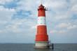 Lighthouse Arngast, Jadebusen, Germany