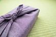 風呂敷包み お歳暮 お中元 紫 畳