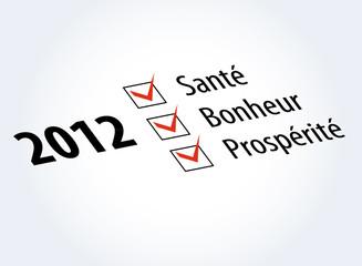 2012  Santé-Bonheur-Prospérité