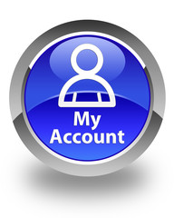 My Account Blue Button