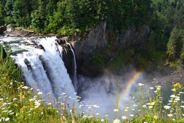 Snoqualmie Falls rainbow