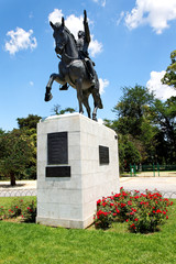 Simon Bolivar Denkmal in Sevilla, Spanien