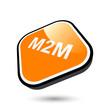 m2m symbol icon modern