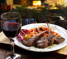 Carne com vinho