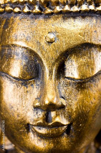 Papiers peints Statue Buddha Kopf