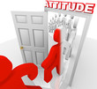 Attitude Changes People for Success and Achievement
