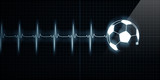 Heartbeat Monitor with soccer ball