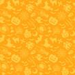 ハロウィン 背景 壁紙 パターン