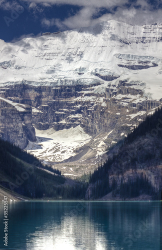 Victoria Glacier in Lake Louise