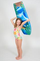 Mädchen Surf 003
