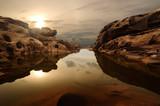 Fototapete Kunst - Asiatische spezialitäten - Canyon