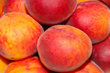 scene ripe peach as fruit background